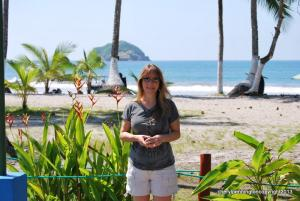 My favorite place to enter the beach from this end of Manuel Antonio