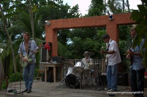 Robbie Clark, Jeff and the band