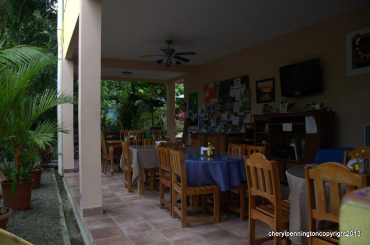 Enjoy the breakfast every morning made fresh and relax in the evenings here in the common area.  Good place to use your internet devices.