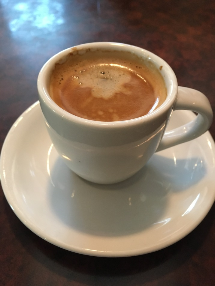 I so longed for a cup of espresso after a 12 hour drive, twice as long as it would normally take